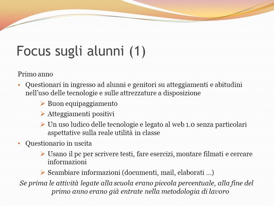Focus sugli alunni (1) Primo anno