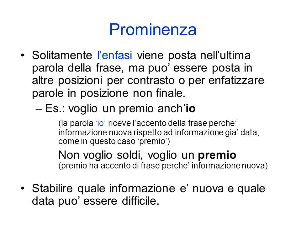 Prominenza