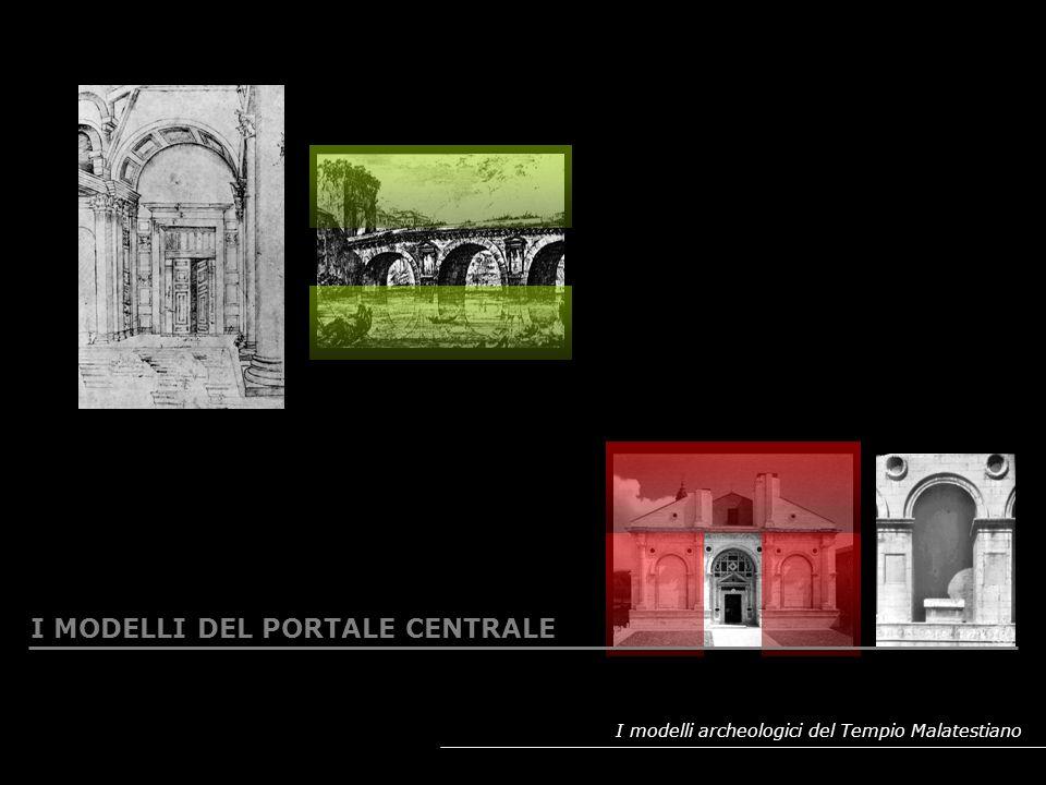 I MODELLI DEL PORTALE CENTRALE