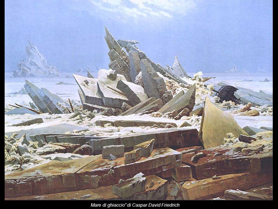 Mare di ghiaccio di Caspar David Friedrich