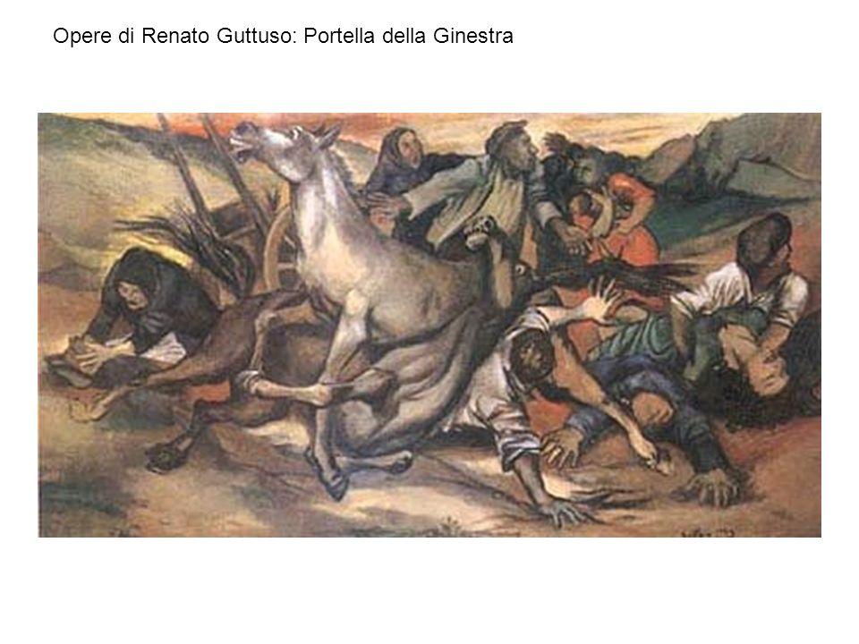 Opere di Renato Guttuso: Portella della Ginestra