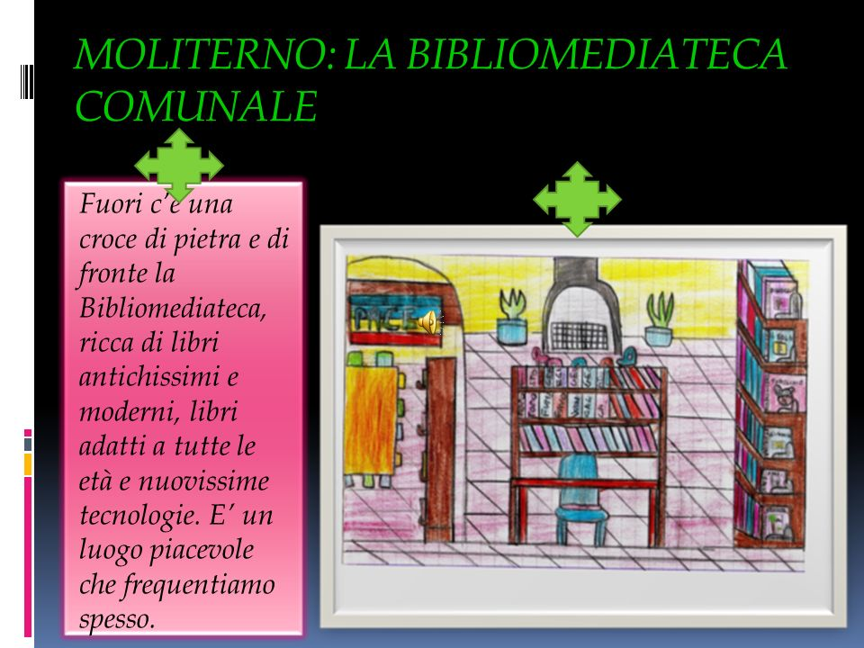 MOLITERNO: LA BIBLIOMEDIATECA COMUNALE