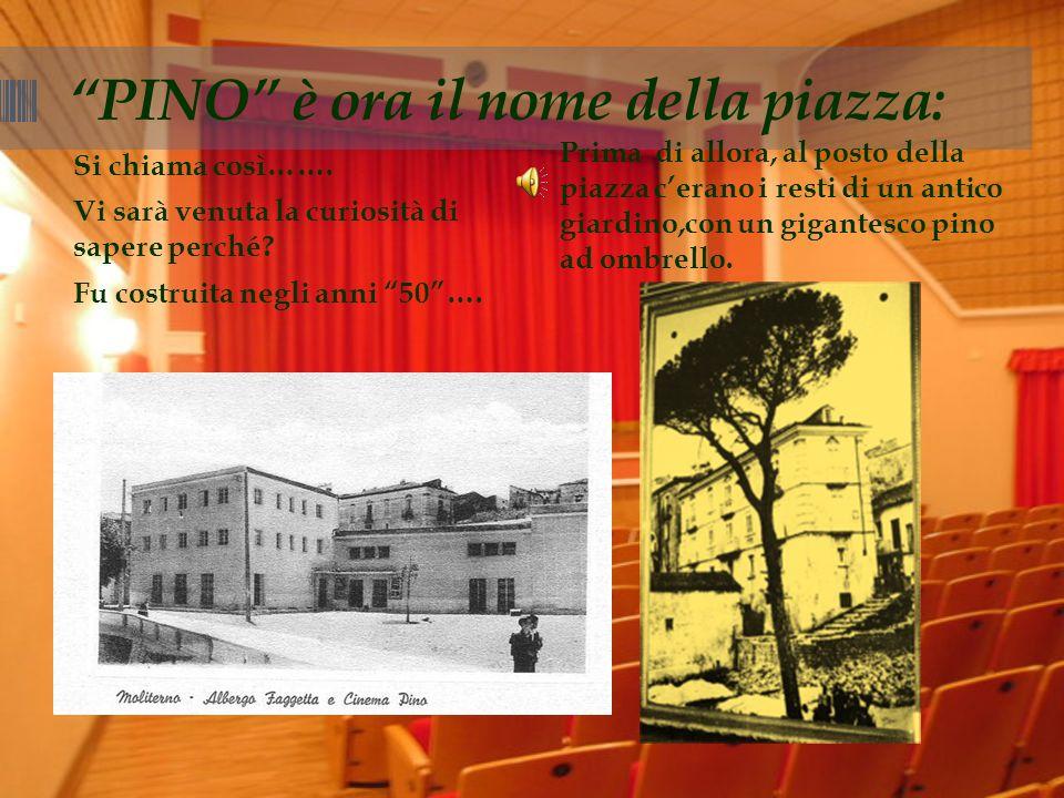 PINO è ora il nome della piazza: