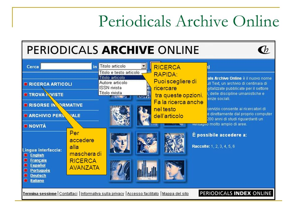 Periodicals Archive Online