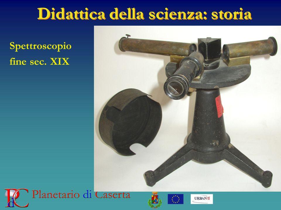 Spettroscopio fine sec. XIX
