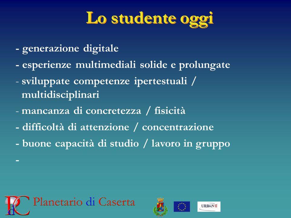 Lo studente oggi - generazione digitale