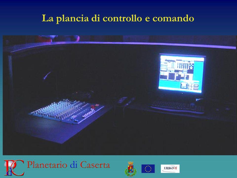 La plancia di controllo e comando