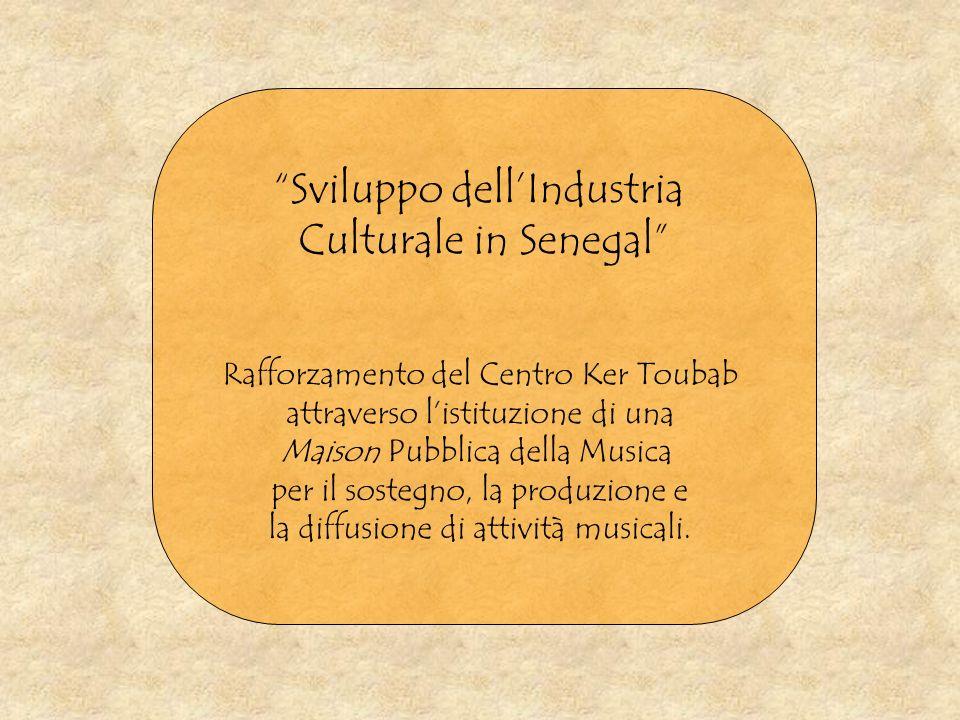 Sviluppo dell'Industria Culturale in Senegal