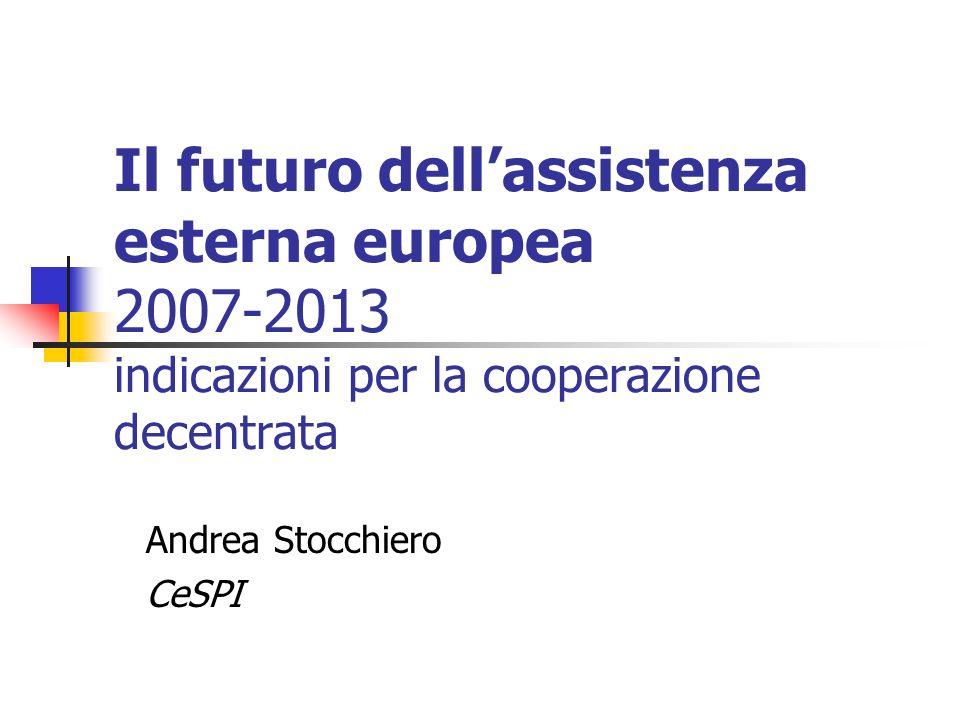 Andrea Stocchiero CeSPI