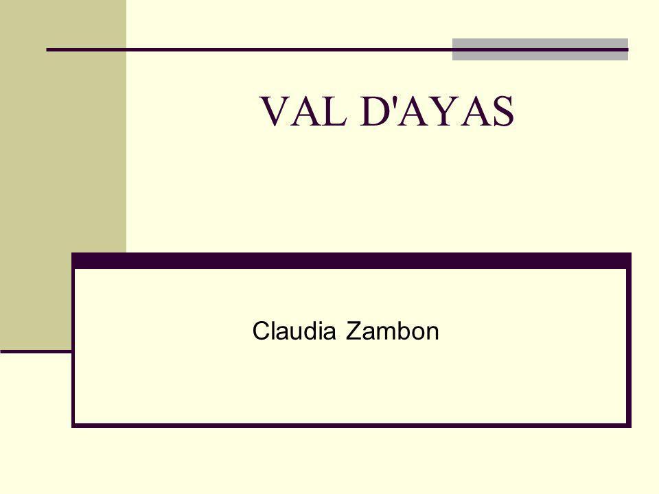 VAL D AYAS Claudia Zambon