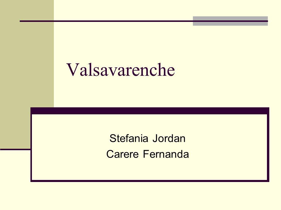 Stefania Jordan Carere Fernanda