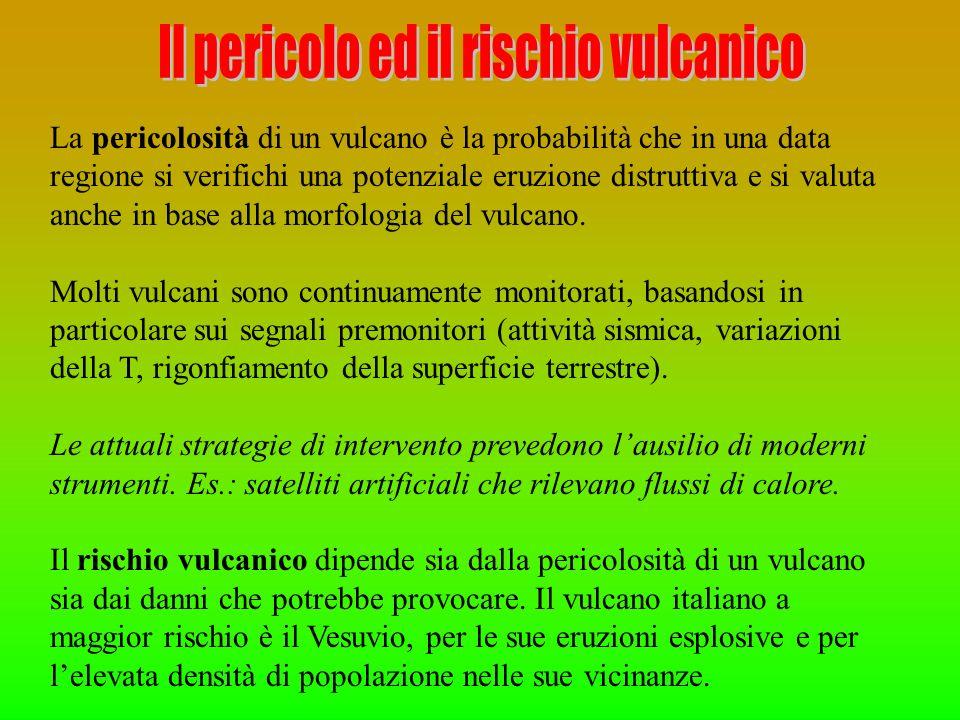 Il pericolo ed il rischio vulcanico