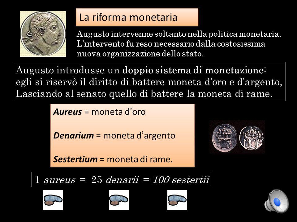 La riforma monetaria