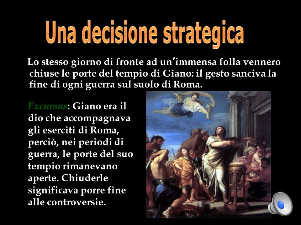 Una decisione strategica