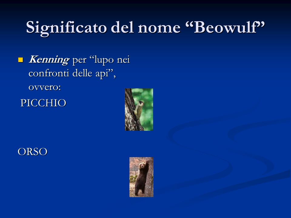 Significato del nome Beowulf