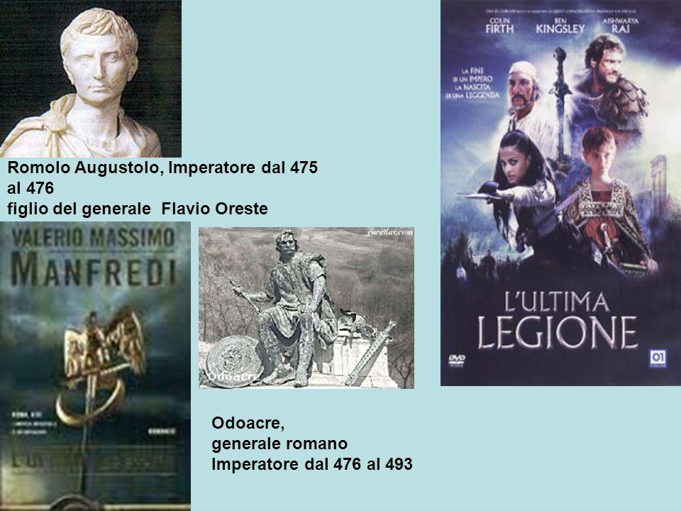 Romolo Augustolo, Imperatore dal 475 al 476