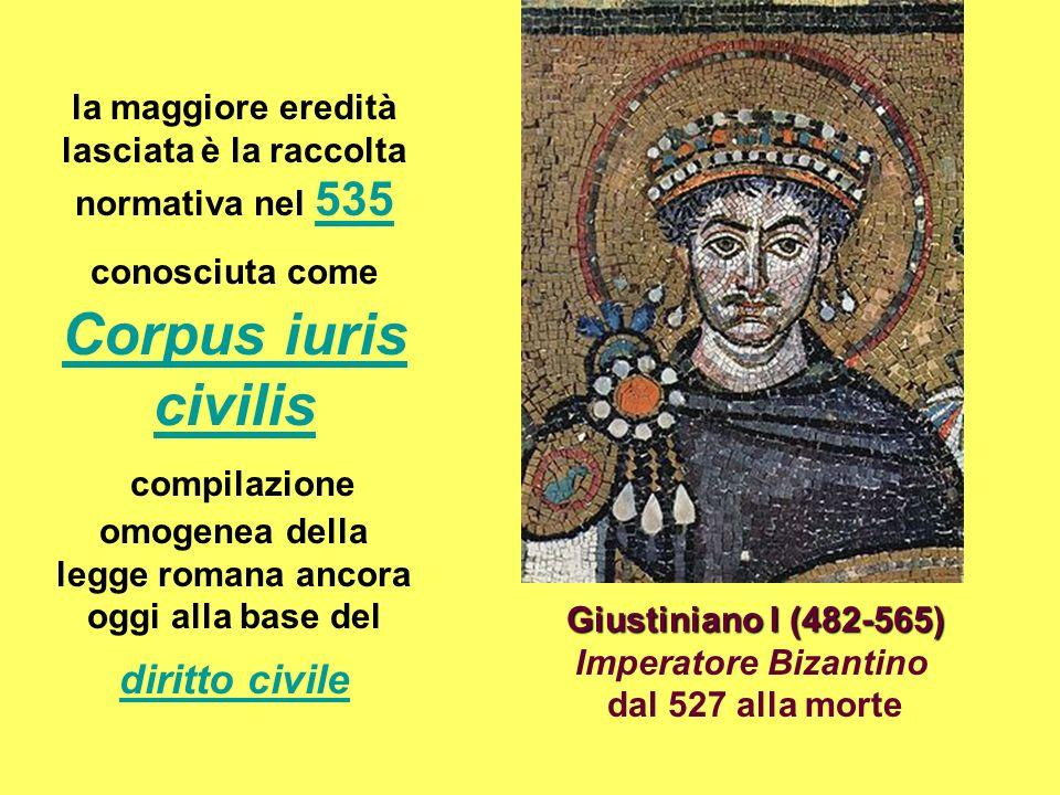 Giustiniano I (482-565) Imperatore Bizantino
