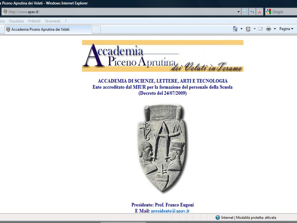 Il sito www.apav.it 4