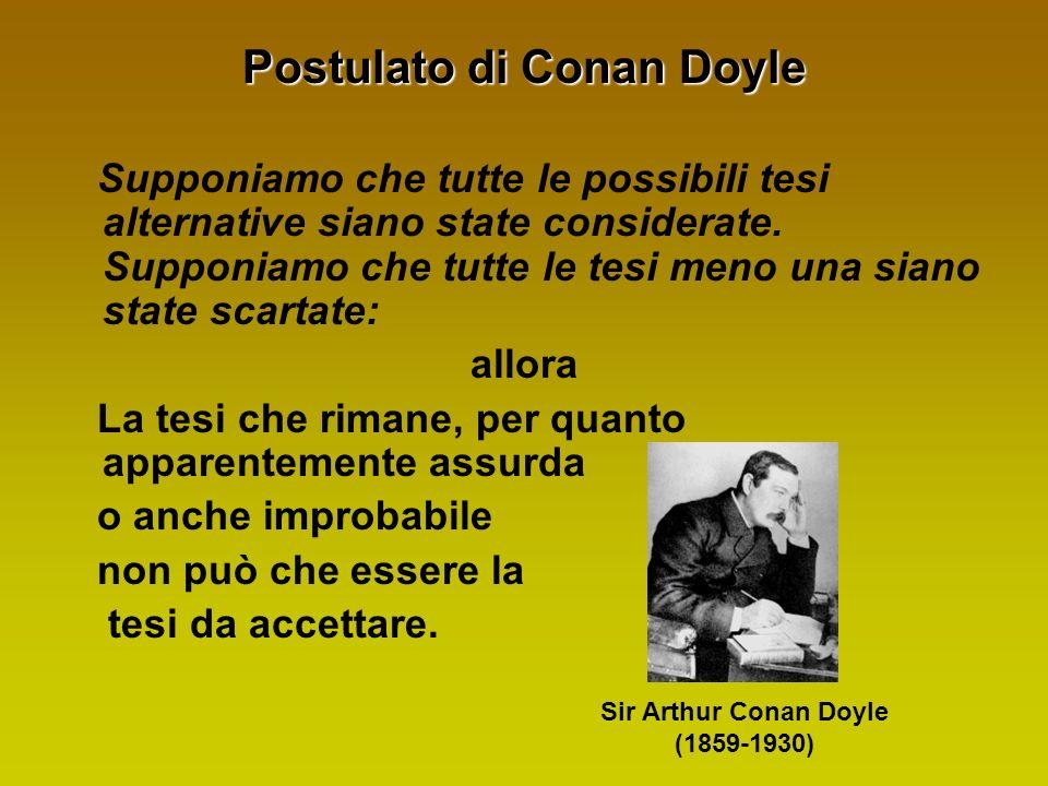 Postulato di Conan Doyle