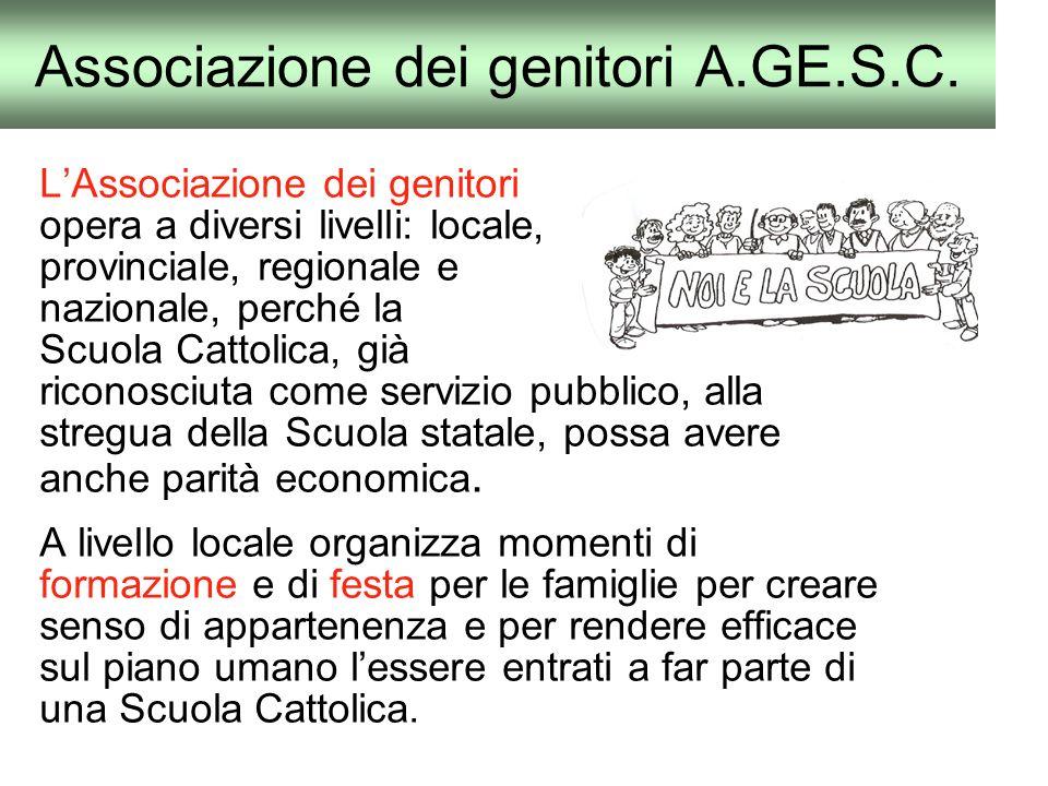 Associazione dei genitori A.GE.S.C.