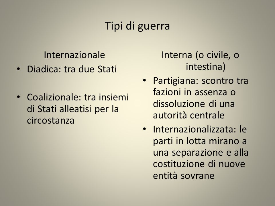 Interna (o civile, o intestina)