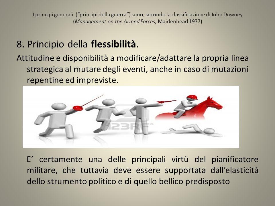 8. Principio della flessibilità.