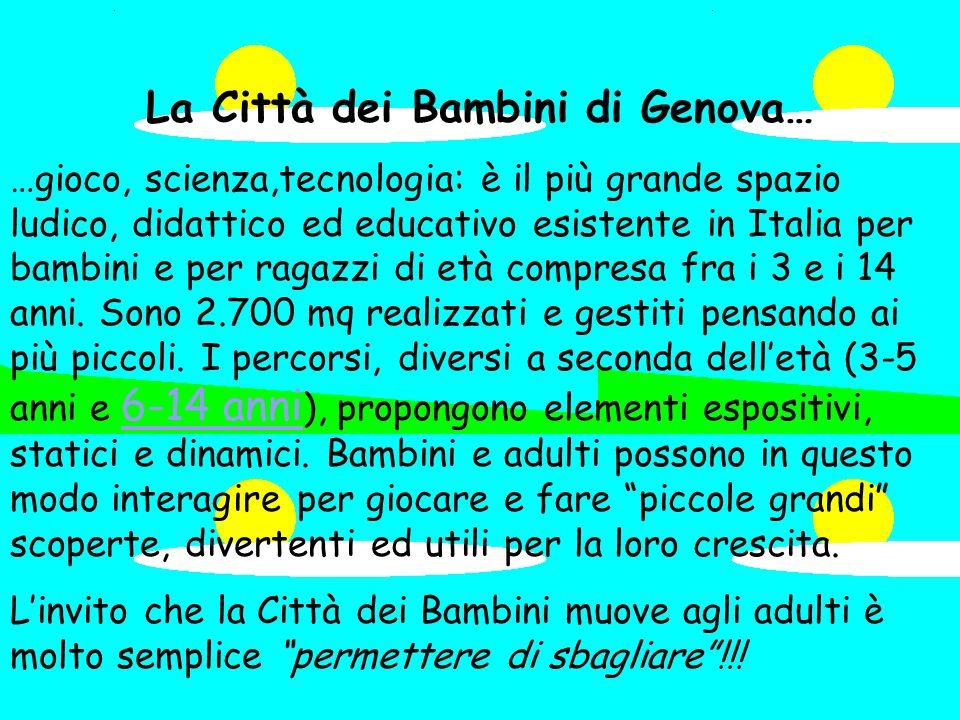 La Città dei Bambini di Genova…