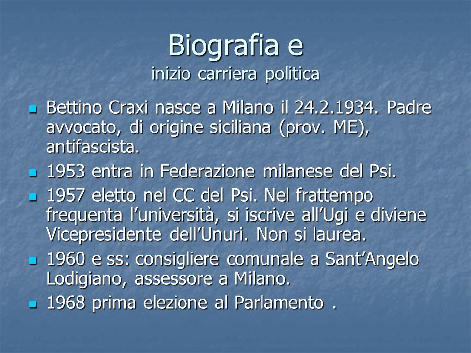 Biografia e inizio carriera politica