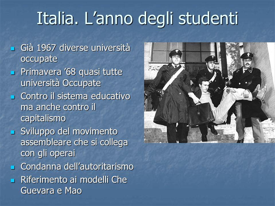 Italia. L'anno degli studenti