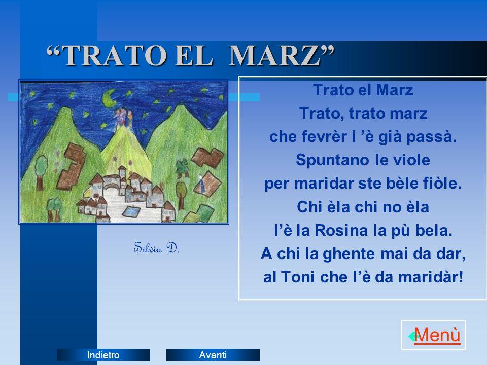 TRATO EL MARZ Menù Trato el Marz Trato, trato marz
