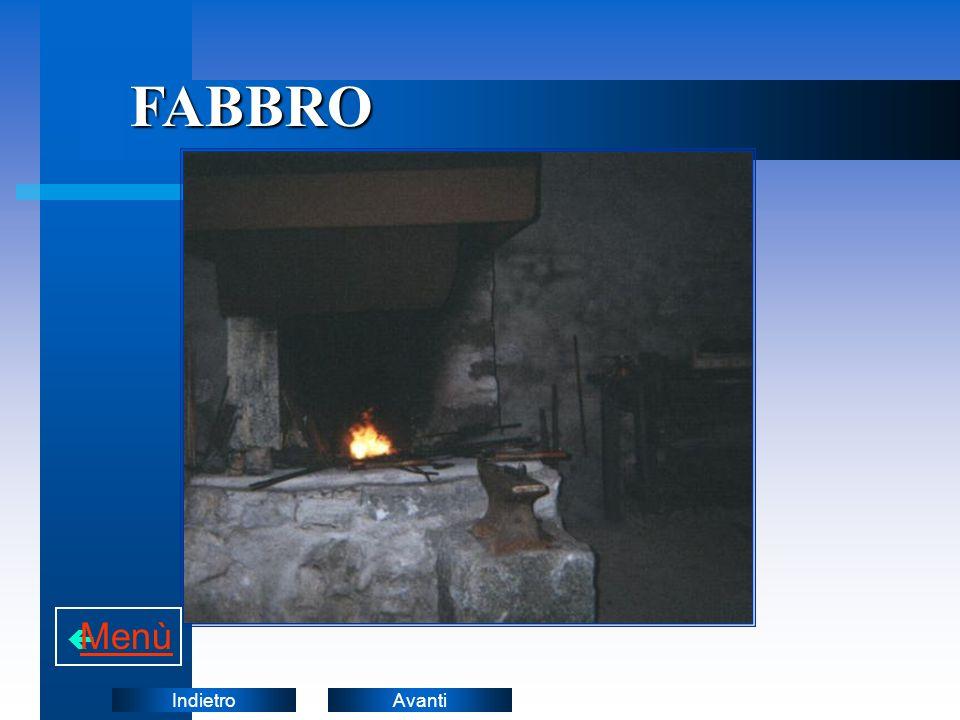 FABBRO Menù