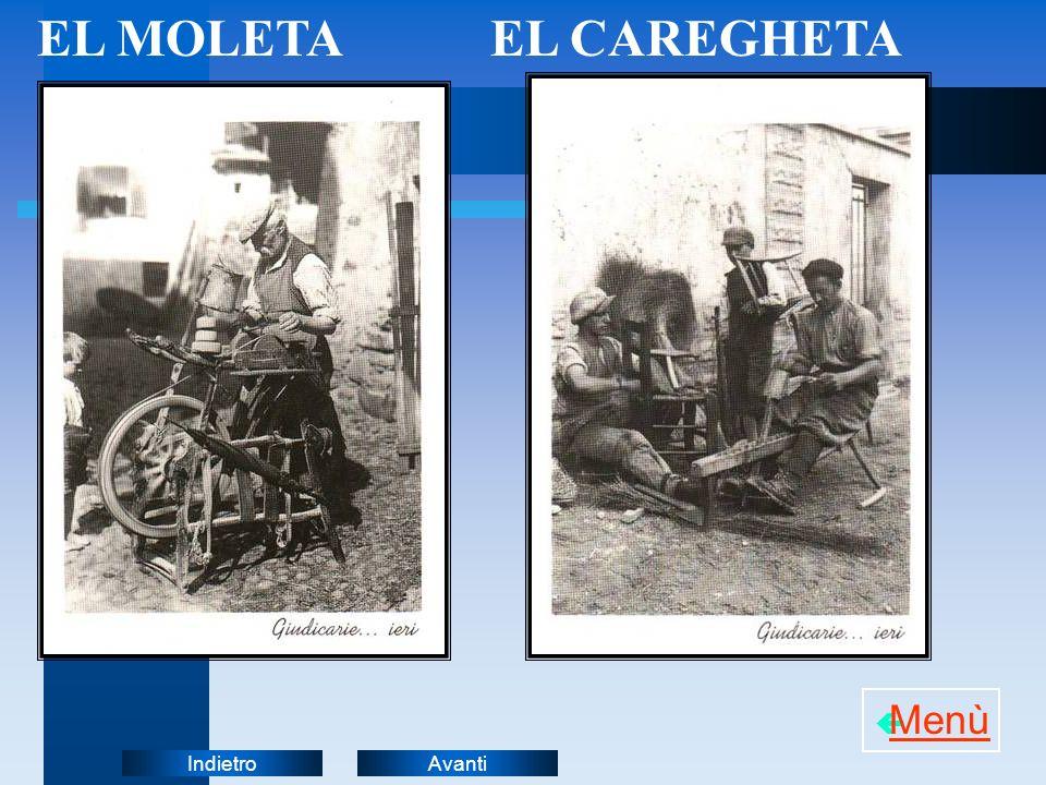EL MOLETA EL CAREGHETA Menù