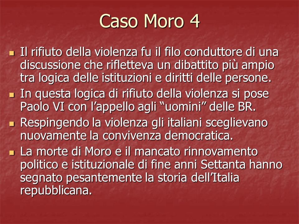 Caso Moro 4