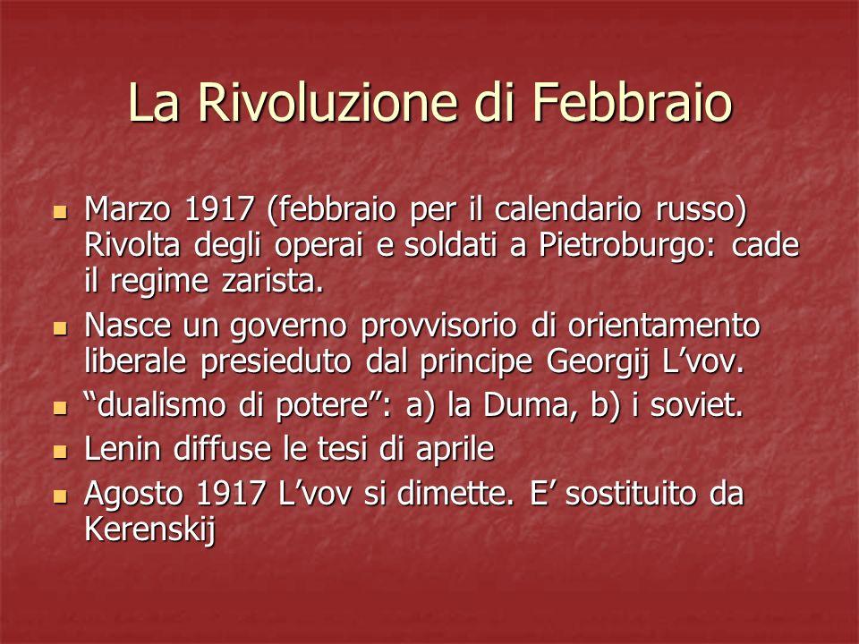 La Rivoluzione di Febbraio