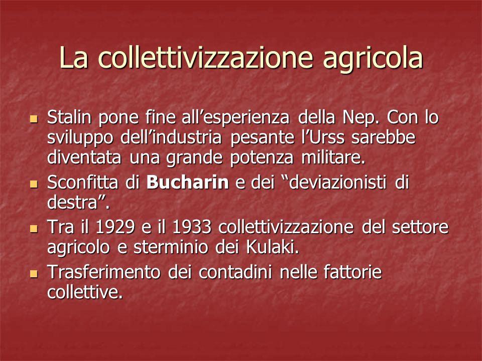 La collettivizzazione agricola