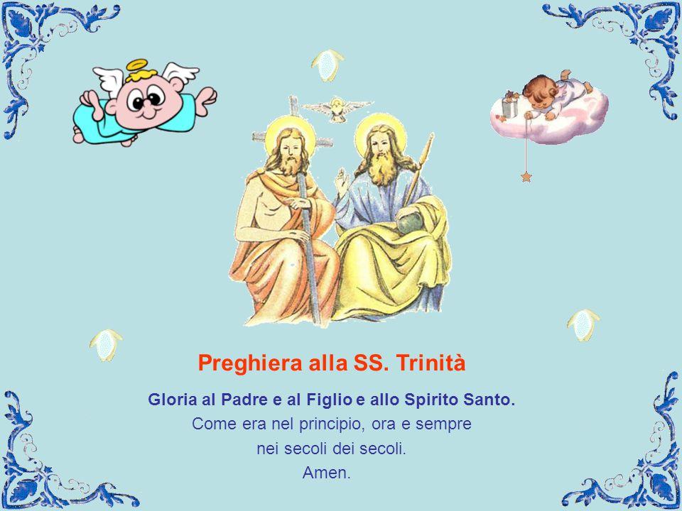 Preghiera alla SS. Trinità