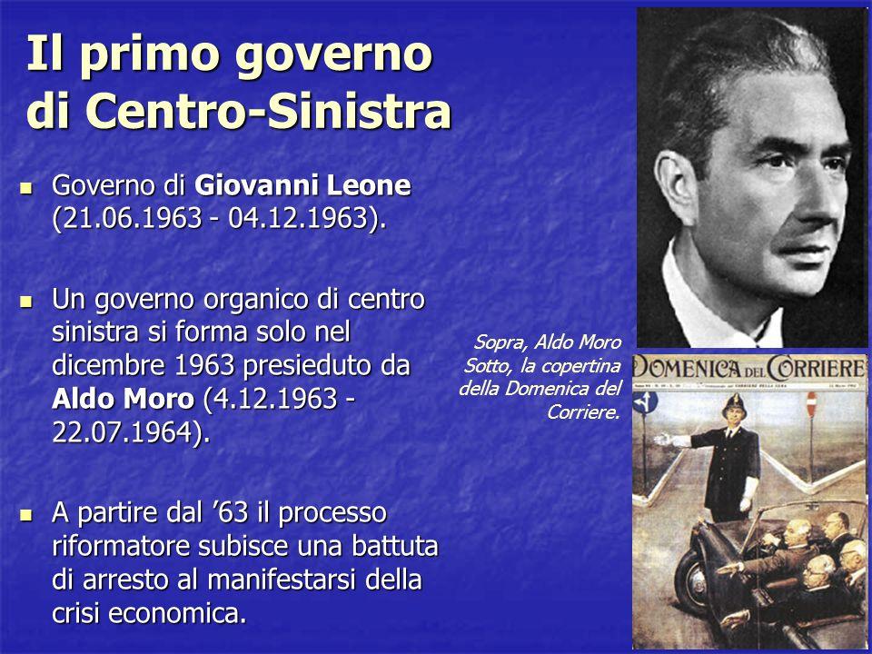 Il primo governo di Centro-Sinistra