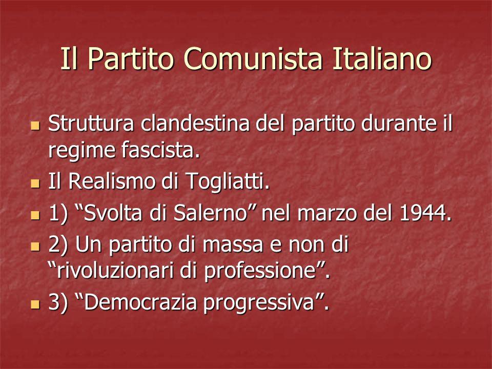 Il Partito Comunista Italiano