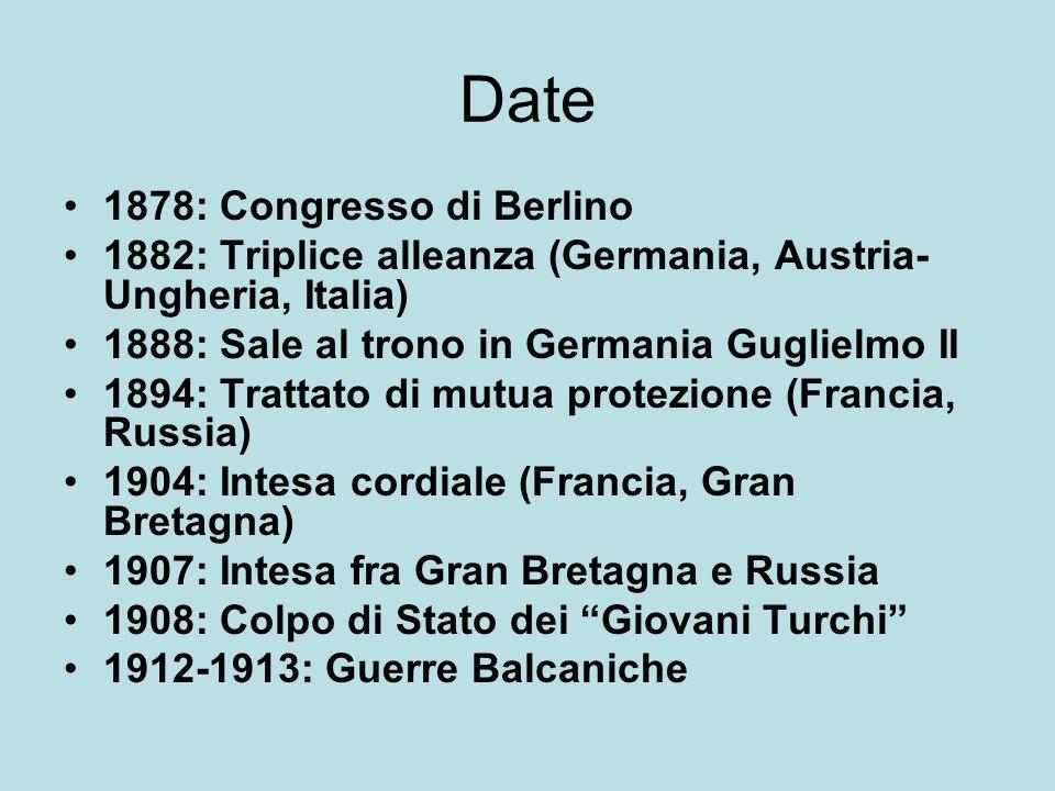 Date 1878: Congresso di Berlino