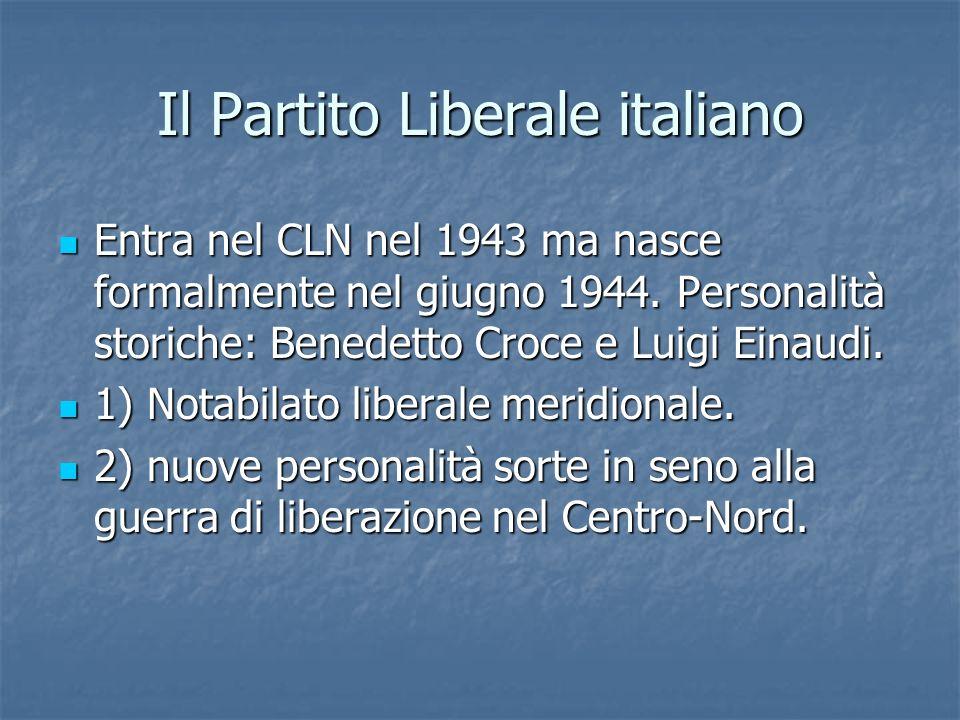 Il Partito Liberale italiano