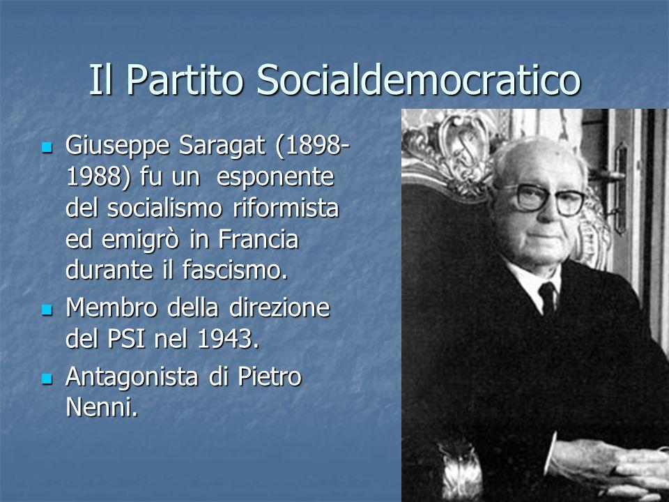 Il Partito Socialdemocratico
