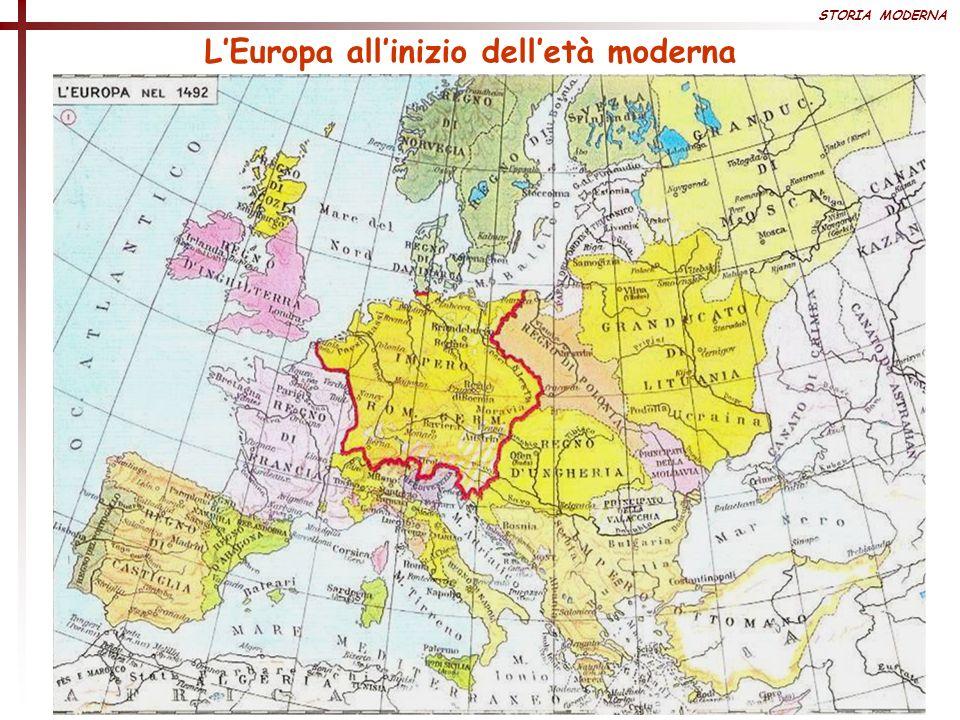 L'Europa all'inizio dell'età moderna