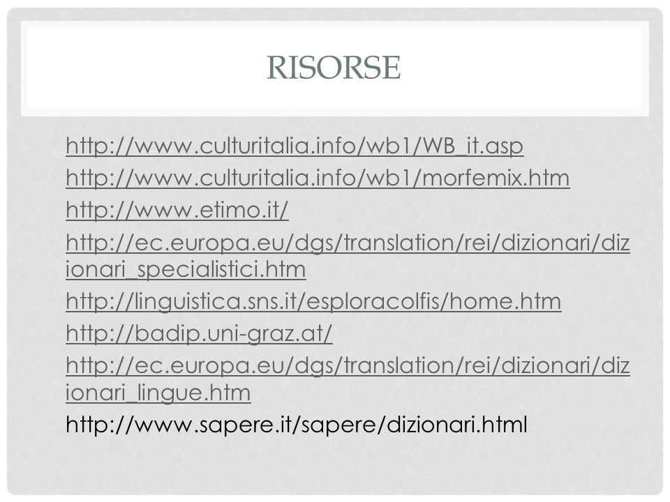 risorse http://www.culturitalia.info/wb1/WB_it.asp