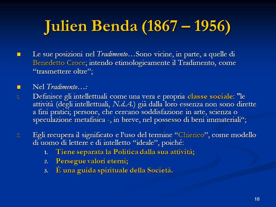 Julien Benda (1867 – 1956)