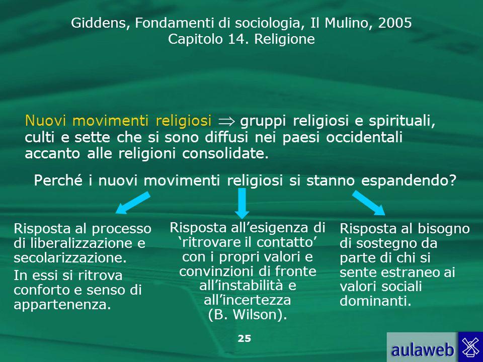 Perché i nuovi movimenti religiosi si stanno espandendo