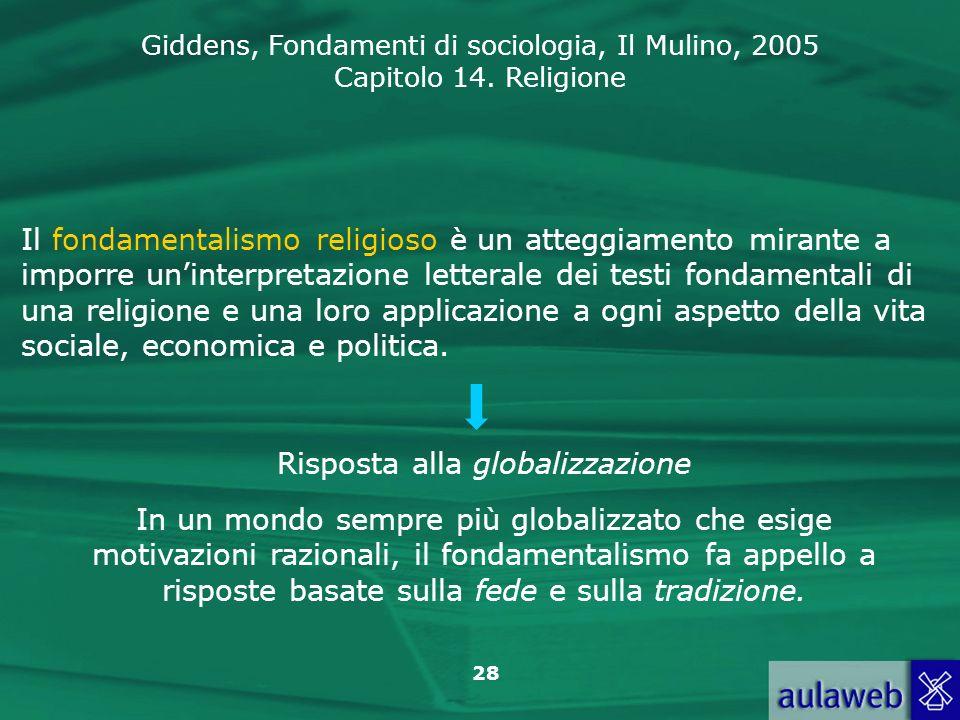 Risposta alla globalizzazione
