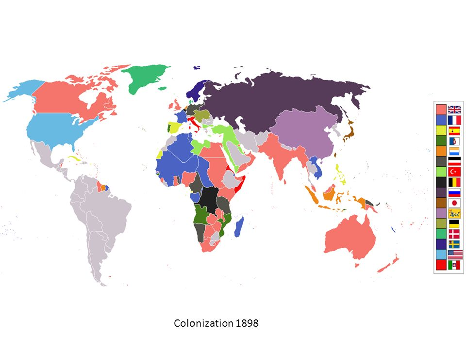 Colonization 1898