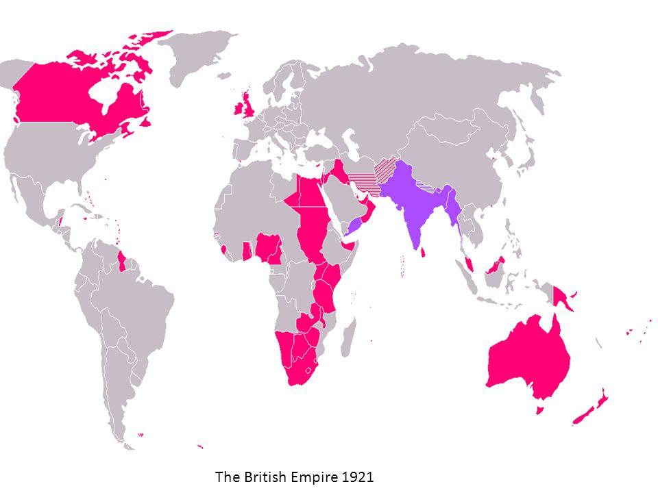 The British Empire 1921