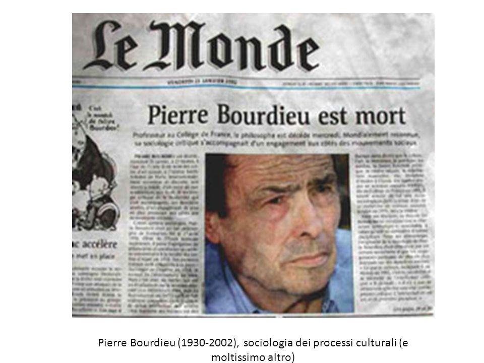 Pierre Bourdieu (1930-2002), sociologia dei processi culturali (e moltissimo altro)