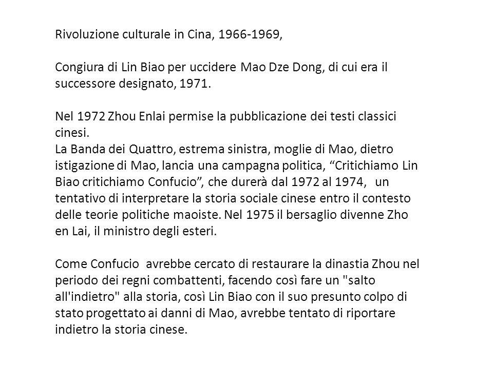 Rivoluzione culturale in Cina, 1966-1969,
